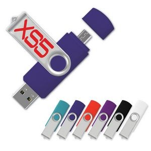 USB 2.0 On-the-Go™ Swing Drive OS Flash Drive (16GB)