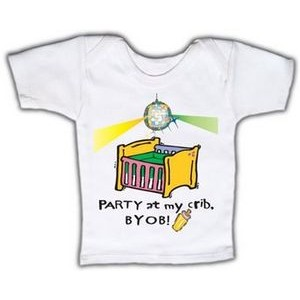 Baby Lap T-Shirt (Includes up to full color)
