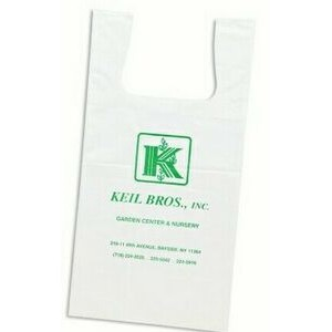 "Imported Low Density T-Shirt Bag (7""x 5""x 16"")"
