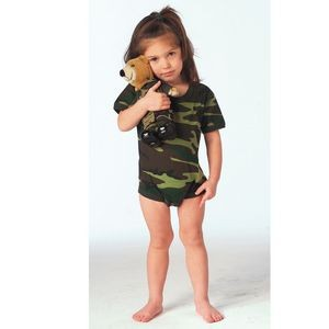 Woodland Camouflage Infant Romper